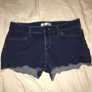 Pants - Denim Cutoffs Booty Shorts